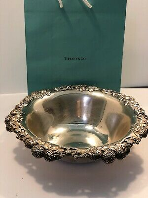 Estate Antique Tiffany & Co. Makers Sterling Silver Centerpiece Bowl  No Reserve