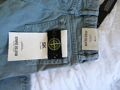 Stone Island Junior Skinny Fit Jeans Age 8 New With Tags *