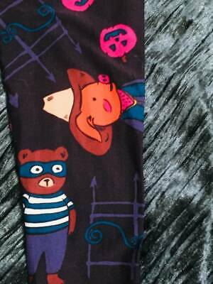 D-36 BNWT LuLaRoe Kids S/M - Super Cute Halloween Leggings