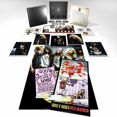 Guns n Roses Appetite For Destruction Super Deluxe 5 CD Box Set 2018