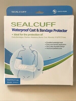 SEALCUFF Waterproof Cast/Bandage Protector: ADULT SHORT LEG Model 330531 *IN UK*