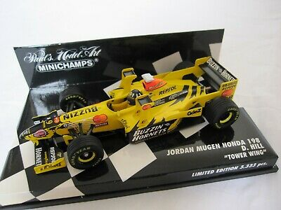 1998 Jordan Honda 198 Tower Wing Damon Hill by Minichamps