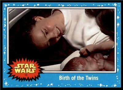 2019 Topps Journey to Rise of Skywalker Base #10 Birth of the Twins