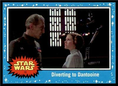 2019 Topps Journey to Rise of Skywalker Base #16 Diverting to Dantooine