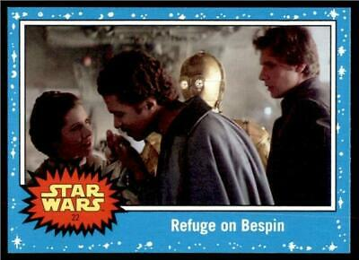 2019 Topps Journey to Rise of Skywalker Base #22 Refuge on Bespin