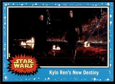 2019 Topps Journey to Rise of Skywalker Base #54 Kylo Ren's New Destiny