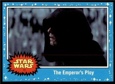 2019 Topps Journey to Rise of Skywalker Base #73 The Emperor's Ploy