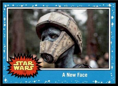 2019 Topps Journey to Rise of Skywalker Base #108 A New Face