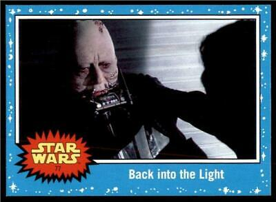2019 Topps Journey to Rise of Skywalker Base #77 Back into the Light