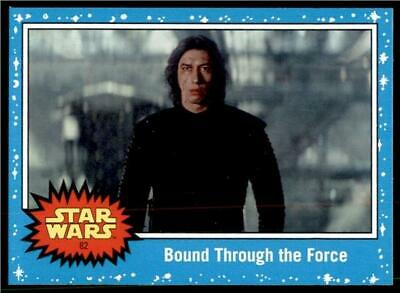 2019 Topps Journey to Rise of Skywalker Base #82 Bound Through the Force
