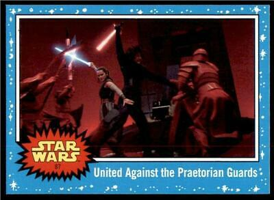 2019 Topps Journey to Rise of Skywalker Base #87 United Against the Guards