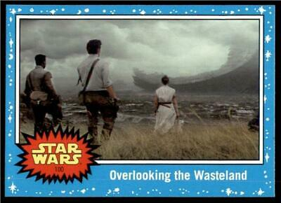 2019 Topps Journey to Rise of Skywalker Base #100 Overlooking the Wasteland