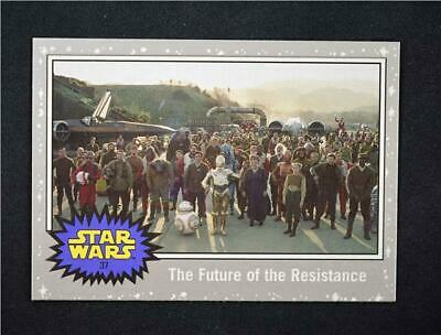 2019 Topps Journey to Rise of Skywalker Silver #37 The Future of the Resistance