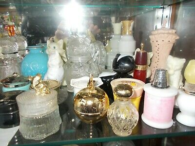 Vintage Avon Perfume and Aftershave Bottles