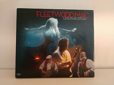 Fleetwood Mac Live In Boston CD + 2 DVD's ~ 2004 Reprise Records ~ Very Good!