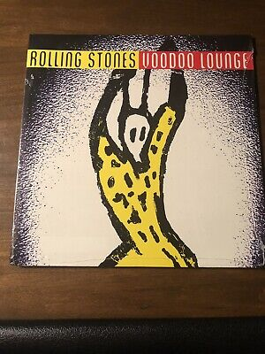 "ROLLING STONES ~ Voodoo Lounge~ NEW 1st Press LP ""SEALED"" Rare 1994"