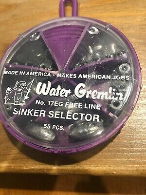 Water Gremlin Egg Sinkers #EG-3 3 Size 24 Pieces Packaged in Bulk  NEW