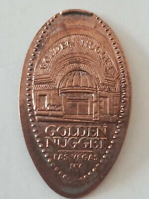 Golden Nugget Las Vegas Pressed Penny Smashed Elongated