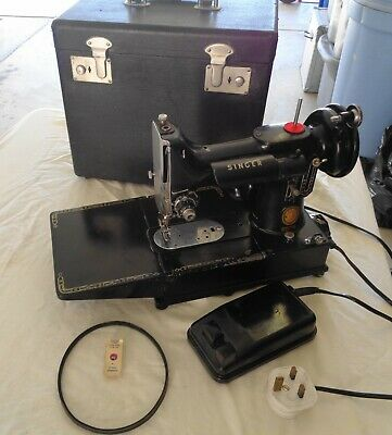 "SINGER Featherweight "" 222k Free Arm"" PARTS or  RESTORE Complete 1956"