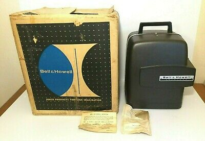 Bell & Howell Model 346A Autoload Super 8 Movie Projector Original Box Works