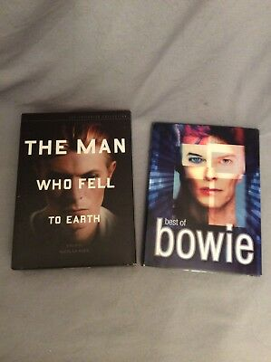 OOP David Bowie Criterion Man Who Fell To Earth & Best Of Bowie 2-DVD Set-Rare!