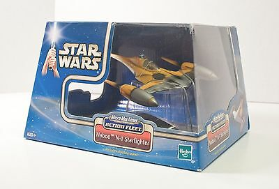 Star Wars Saga NABOO N-1 STARFIGHTER Micro Machines Action Fleet 2002 NEW NIB