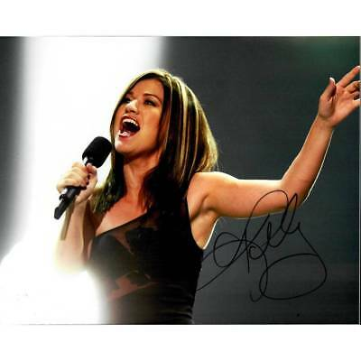 Kelly Clarkson American Idol, The Voice Signed 8x10 Photo