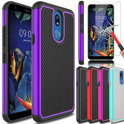 For LG Xpression Plus 2/Harmony 3 Case Protective Cover With HD Screen Protector