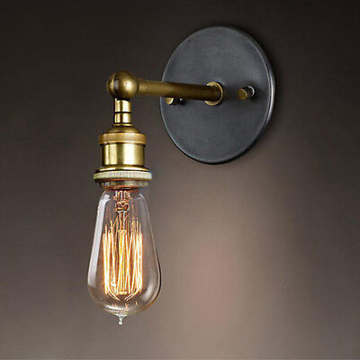 Modern Industrial Vintage Retro Rustic Sconce Wall Light Lamp Fitting Fixture
