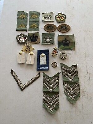 Obsolete Australian Army Patches and Badges