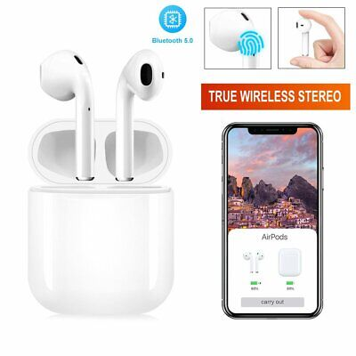 i14 TWS Bluetooth 5.0 Earphones Wireless Headphones Earbuds For iPhone Android
