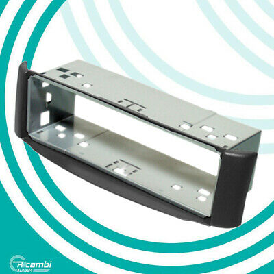 Mascherina supporto autoradio ISO Smart ForTwo (W450 rest. 2002-2007) - Grigio