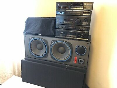 Pioneer RX-1320 380W 4 in 1 Stereo System - with 2 large speakers.