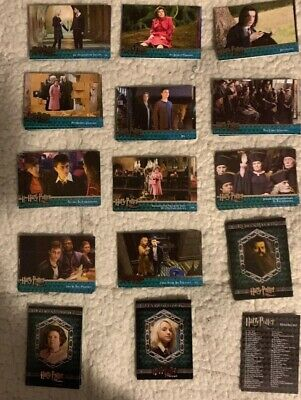 Harry Potter & The Order Of The Phoenix Artbox Incomplete Set(s07).Approx 84.