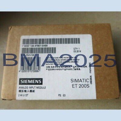 New In Box Siemens ET200S 6ES7 134-4FB01-0AB0 1 year warranty Fast delivery