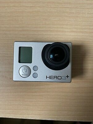 GoPro Hero3+ Silver Edition + LCD Screen Adapter & Accessories