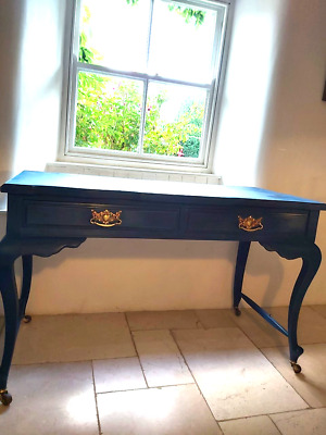 Art Nouveau solid mahogany painted Console/dressing table