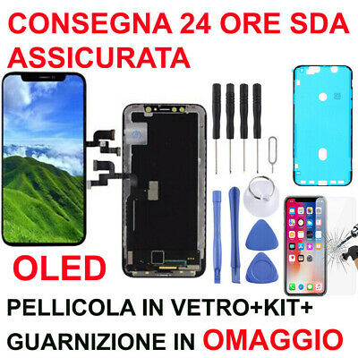 Lcd Display Oled Touch Screen Frame 3D Touch Apple Iphone X 10 Vetro Schermo