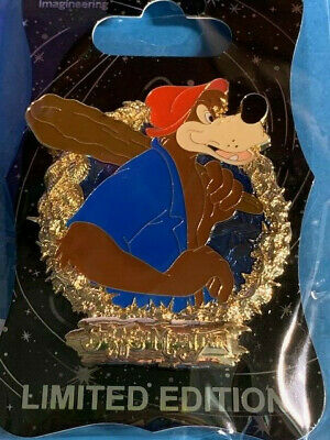 D23 2019 Disney Wdi Mog Splash Mountain Brer Bear Pin Le250