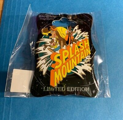 D23 2019 Disney Wdi Mog Splash Mountain Logo Pin Le250