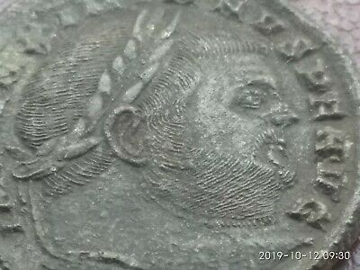 Ancient Roman Coin From Maximianus , Large Follis , Extra Fine Details , Look...