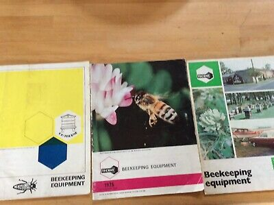 Thornes Beekeeping Catalogues 1967,1976, 1979