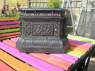 Victorian cast iron Tidy Betty - Grate cover in the style of Christopher.Dresser