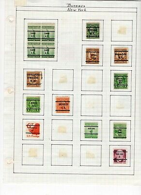 Used, US Postage Stamps many old, this is what you get.. 7 sheets lot 300
