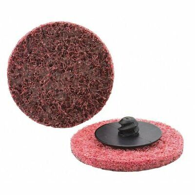 "25 Pack 3"" Maroon Surface Conditioning Discs KEEN-Brite #22218"