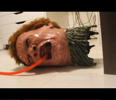 life size THE THING NORRIS TONGUE HEAD alien replica prop star wars