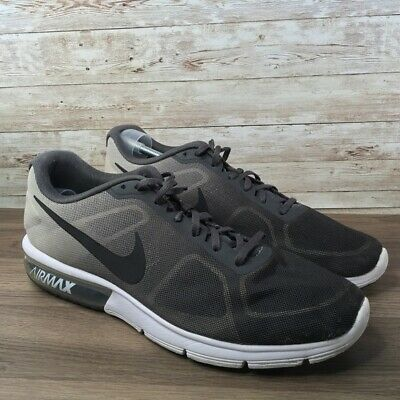 cheapest online retailer half off NIKE AIR MAX Sequent 4 Black Anthracite Womens Running Shoes ...