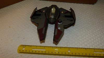 Jedi Starfighter Obi-Wan Kenobi Transformers Star Wars Vehicle Hasbro 2005