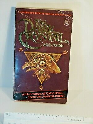 The Dark Crystal Paper Back 1982 A.C.H. Smith Jim Henson First edition moviebook
