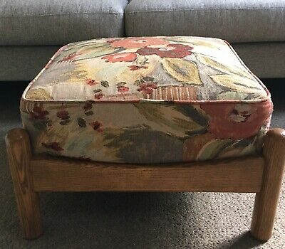 Ercol Renaissance Oak footstool/stool in vgc. Courier Collection Facilitated.
